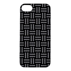 Woven1 Black Marble & Gray Colored Pencil Apple Iphone 5s/ Se Hardshell Case
