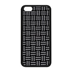 Woven1 Black Marble & Gray Colored Pencil Apple Iphone 5c Seamless Case (black)