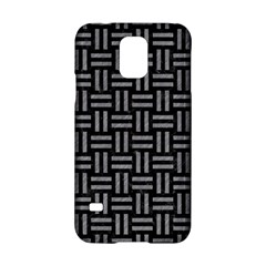 Woven1 Black Marble & Gray Colored Pencil Samsung Galaxy S5 Hardshell Case
