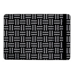 Woven1 Black Marble & Gray Colored Pencil Samsung Galaxy Tab Pro 10 1  Flip Case