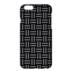 Woven1 Black Marble & Gray Colored Pencil Apple Iphone 6 Plus/6s Plus Hardshell Case