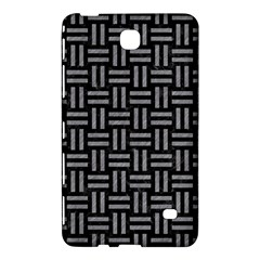 Woven1 Black Marble & Gray Colored Pencil Samsung Galaxy Tab 4 (8 ) Hardshell Case