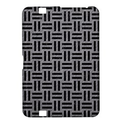 Woven1 Black Marble & Gray Colored Pencil (r) Kindle Fire Hd 8 9
