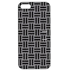 Woven1 Black Marble & Gray Colored Pencil (r) Apple Iphone 5 Hardshell Case With Stand