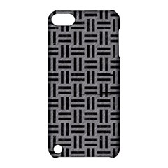 Woven1 Black Marble & Gray Colored Pencil (r) Apple Ipod Touch 5 Hardshell Case With Stand
