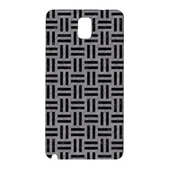 Woven1 Black Marble & Gray Colored Pencil (r) Samsung Galaxy Note 3 N9005 Hardshell Back Case