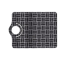Woven1 Black Marble & Gray Colored Pencil (r) Kindle Fire Hd (2013) Flip 360 Case