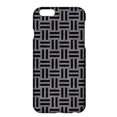 Woven1 Black Marble & Gray Colored Pencil (r) Apple Iphone 6 Plus/6s Plus Hardshell Case
