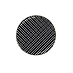 Woven2 Black Marble & Gray Colored Pencil Hat Clip Ball Marker (4 Pack)