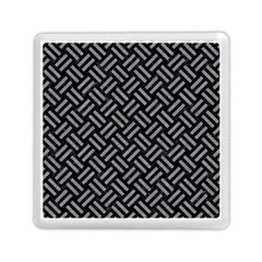 Woven2 Black Marble & Gray Colored Pencil Memory Card Reader (square)