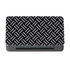 Woven2 Black Marble & Gray Colored Pencil Memory Card Reader With Cf