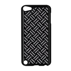 Woven2 Black Marble & Gray Colored Pencil Apple Ipod Touch 5 Case (black)