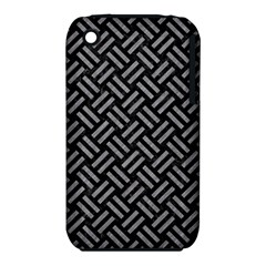 Woven2 Black Marble & Gray Colored Pencil Iphone 3s/3gs