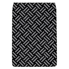 Woven2 Black Marble & Gray Colored Pencil Flap Covers (l)