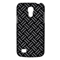 Woven2 Black Marble & Gray Colored Pencil Galaxy S4 Mini