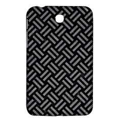 Woven2 Black Marble & Gray Colored Pencil Samsung Galaxy Tab 3 (7 ) P3200 Hardshell Case