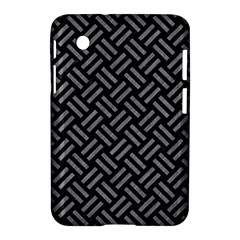 Woven2 Black Marble & Gray Colored Pencil Samsung Galaxy Tab 2 (7 ) P3100 Hardshell Case