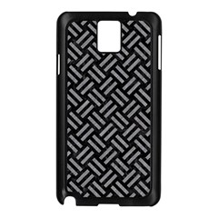 Woven2 Black Marble & Gray Colored Pencil Samsung Galaxy Note 3 N9005 Case (black)