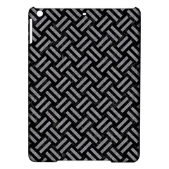 Woven2 Black Marble & Gray Colored Pencil Ipad Air Hardshell Cases