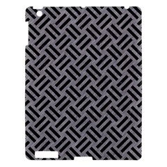 Woven2 Black Marble & Gray Colored Pencil (r) Apple Ipad 3/4 Hardshell Case