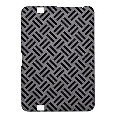 Woven2 Black Marble & Gray Colored Pencil (r) Kindle Fire Hd 8 9