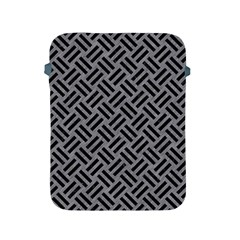 Woven2 Black Marble & Gray Colored Pencil (r) Apple Ipad 2/3/4 Protective Soft Cases