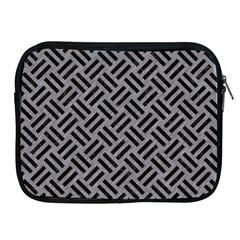 Woven2 Black Marble & Gray Colored Pencil (r) Apple Ipad 2/3/4 Zipper Cases