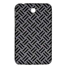 Woven2 Black Marble & Gray Colored Pencil (r) Samsung Galaxy Tab 3 (7 ) P3200 Hardshell Case