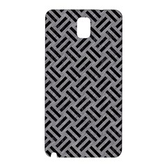 Woven2 Black Marble & Gray Colored Pencil (r) Samsung Galaxy Note 3 N9005 Hardshell Back Case