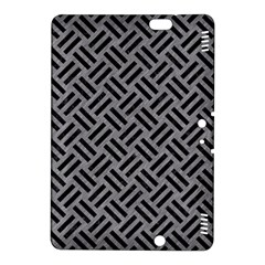 Woven2 Black Marble & Gray Colored Pencil (r) Kindle Fire Hdx 8 9  Hardshell Case