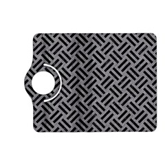 Woven2 Black Marble & Gray Colored Pencil (r) Kindle Fire Hd (2013) Flip 360 Case