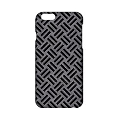 Woven2 Black Marble & Gray Colored Pencil (r) Apple Iphone 6/6s Hardshell Case