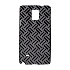 Woven2 Black Marble & Gray Colored Pencil (r) Samsung Galaxy Note 4 Hardshell Case