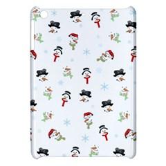 Snowman Pattern Apple Ipad Mini Hardshell Case