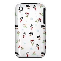 Snowman Pattern Iphone 3s/3gs