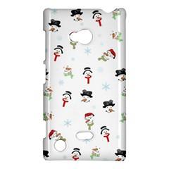 Snowman Pattern Nokia Lumia 720