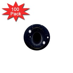 Brightest Cluster Galaxies And Supermassive Black Holes 1  Mini Buttons (100 Pack)