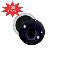 Brightest Cluster Galaxies And Supermassive Black Holes 1 75  Magnets (100 Pack)