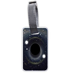 Brightest Cluster Galaxies And Supermassive Black Holes Luggage Tags (one Side)