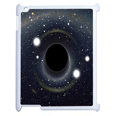 Brightest Cluster Galaxies And Supermassive Black Holes Apple Ipad 2 Case (white)