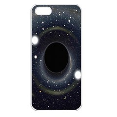 Brightest Cluster Galaxies And Supermassive Black Holes Apple Iphone 5 Seamless Case (white)