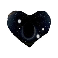 Brightest Cluster Galaxies And Supermassive Black Holes Standard 16  Premium Heart Shape Cushions
