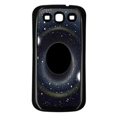 Brightest Cluster Galaxies And Supermassive Black Holes Samsung Galaxy S3 Back Case (black)
