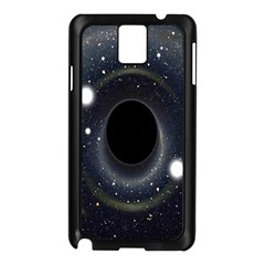 Brightest Cluster Galaxies And Supermassive Black Holes Samsung Galaxy Note 3 N9005 Case (black)