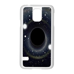 Brightest Cluster Galaxies And Supermassive Black Holes Samsung Galaxy S5 Case (white)