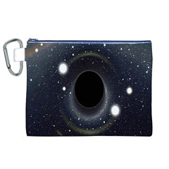 Brightest Cluster Galaxies And Supermassive Black Holes Canvas Cosmetic Bag (xl)