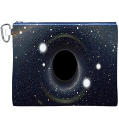 Brightest Cluster Galaxies And Supermassive Black Holes Canvas Cosmetic Bag (xxxl)