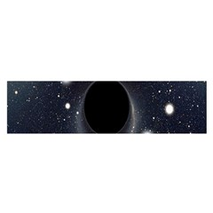 Brightest Cluster Galaxies And Supermassive Black Holes Satin Scarf (oblong)