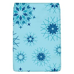 Blue Winter Snowflakes Star Flap Covers (l)