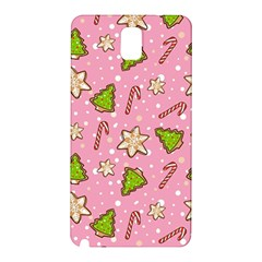 Ginger Cookies Christmas Pattern Samsung Galaxy Note 3 N9005 Hardshell Back Case
